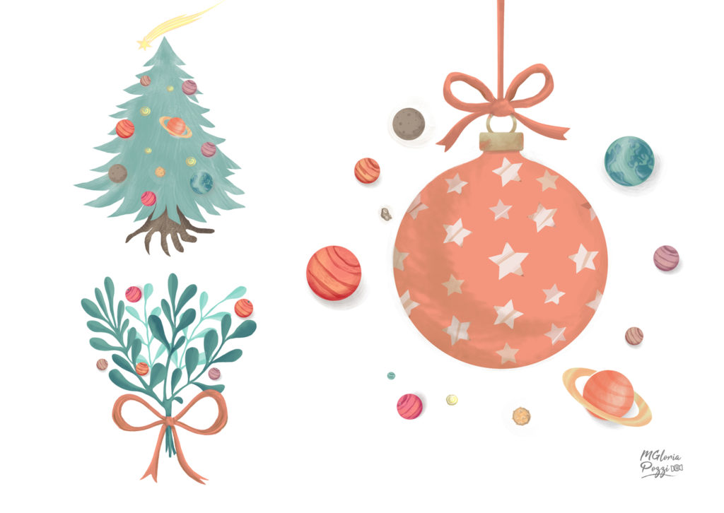 Stars and Planets at Christmas