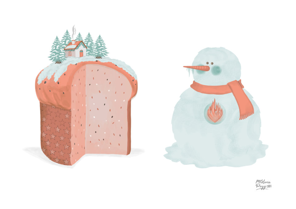 The Panettone and the Snowman