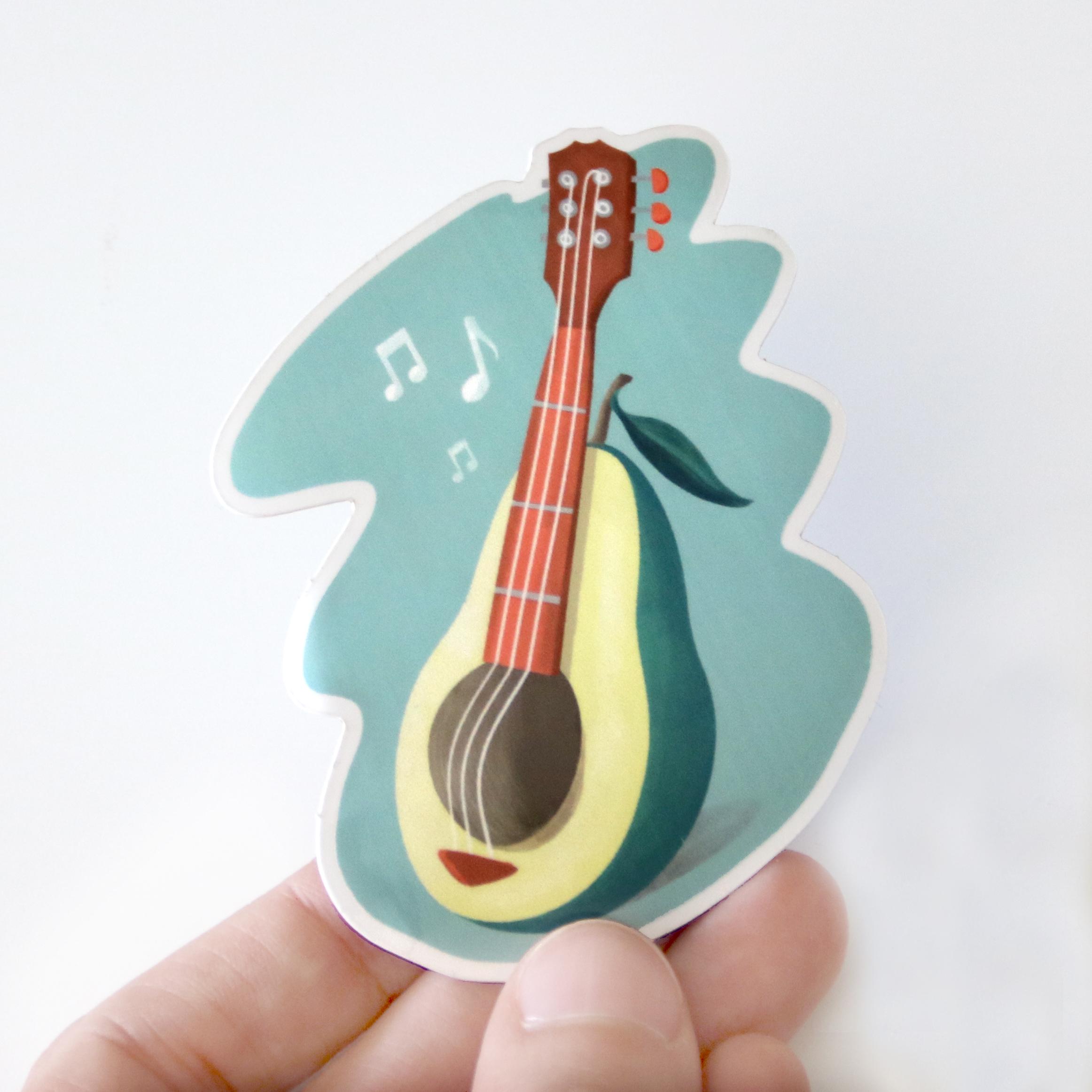 stickerapp-sweetcandyroll-Avocado-sound