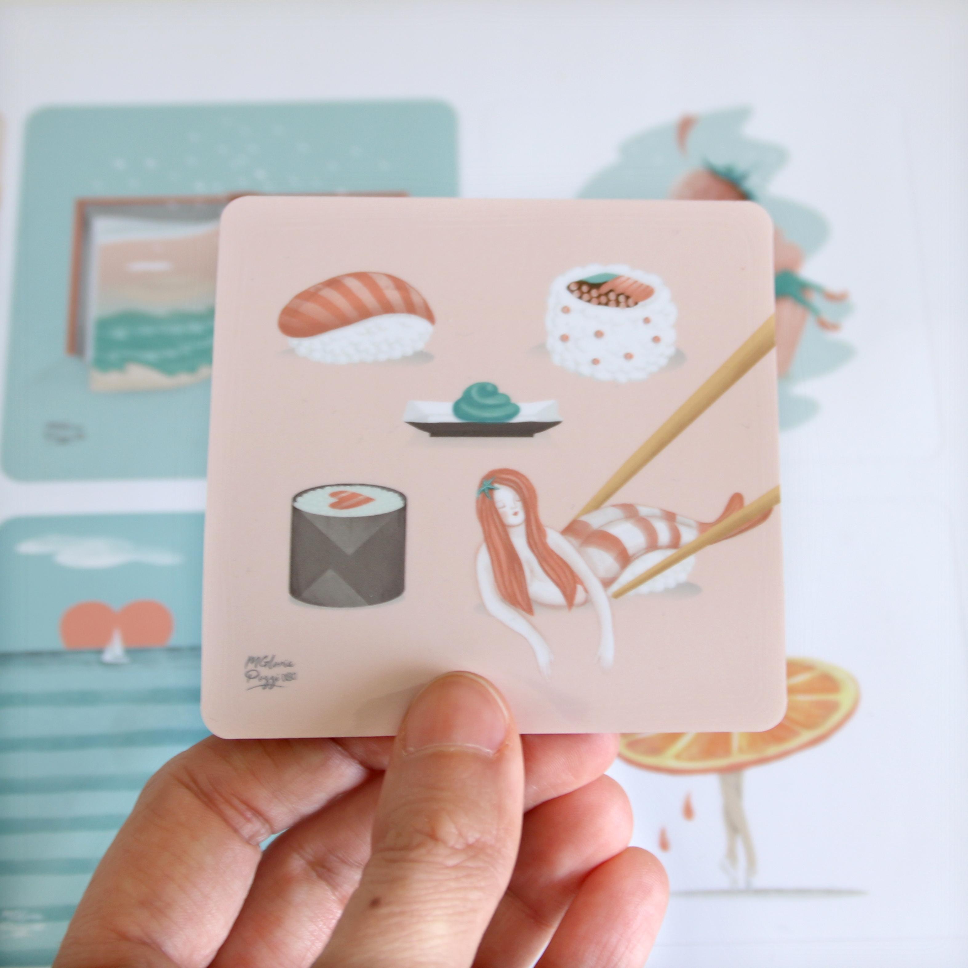 stickerapp-sweetcandyroll-sushi