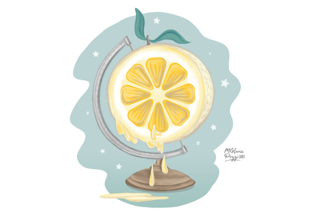 Overshoot Day, A globe - lemon cut in half and squeezed ...