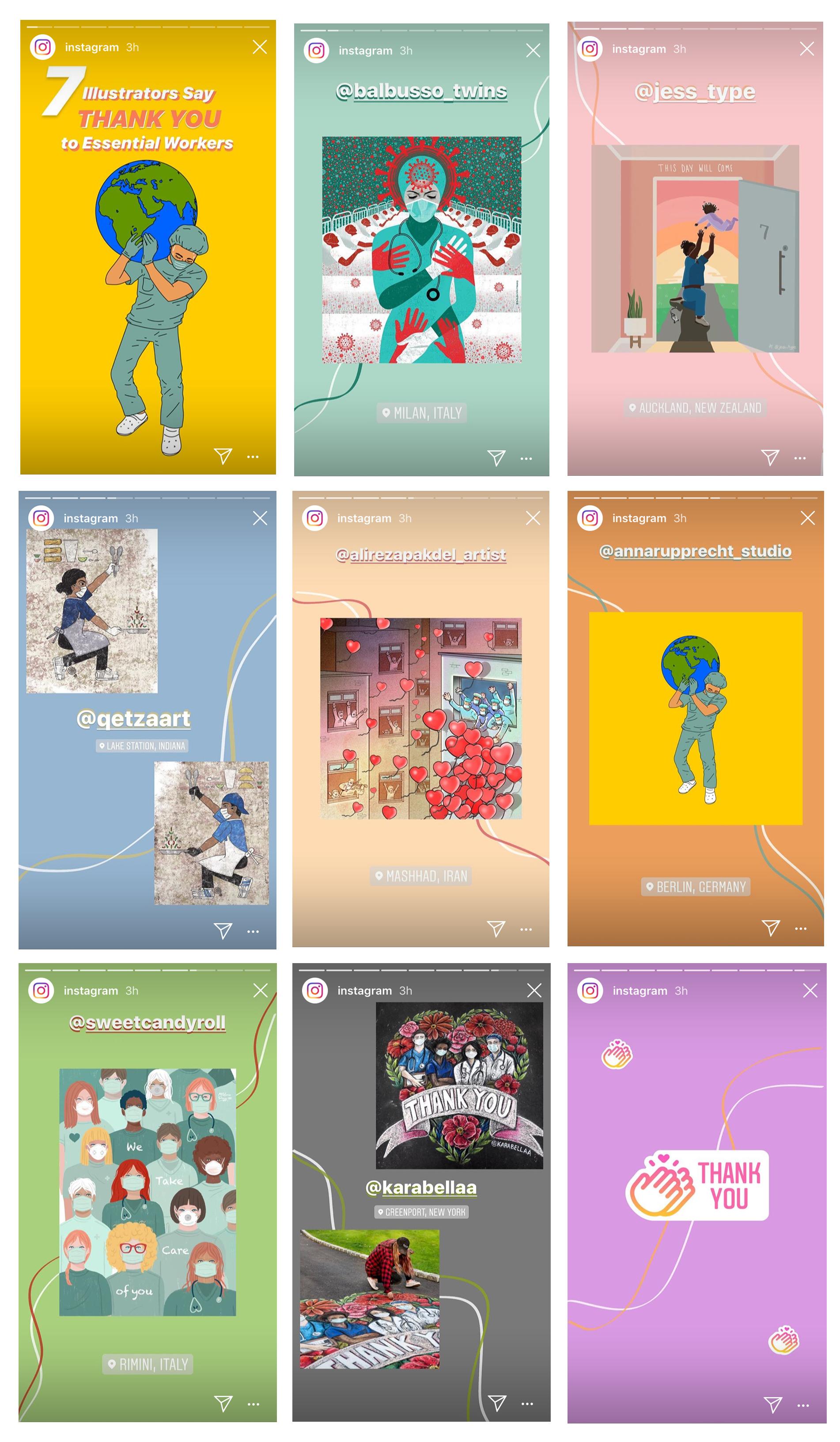 seven-illustrator-feed-instagram-stores