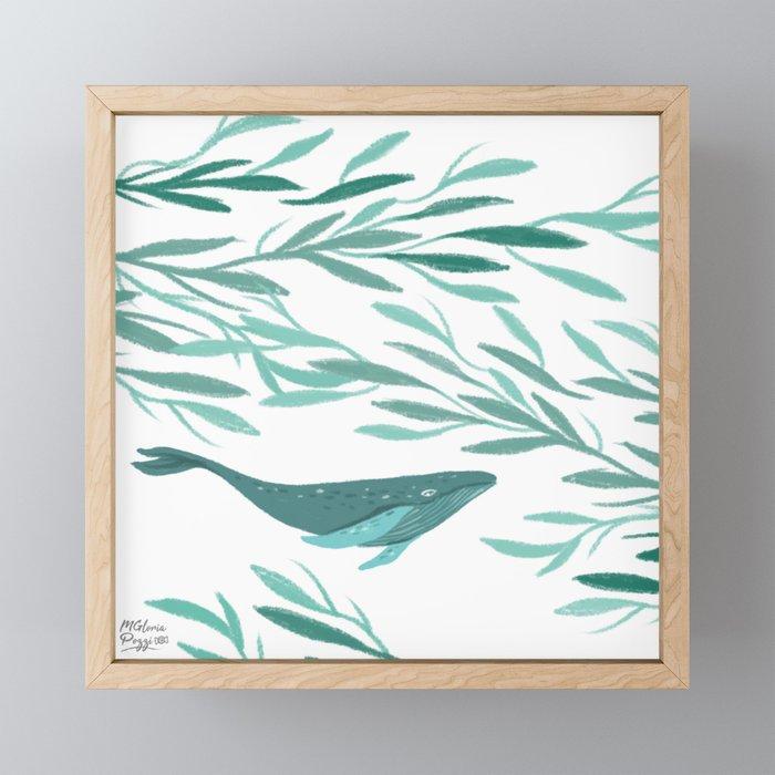 whales-in-flight-framed-mini-art-prints