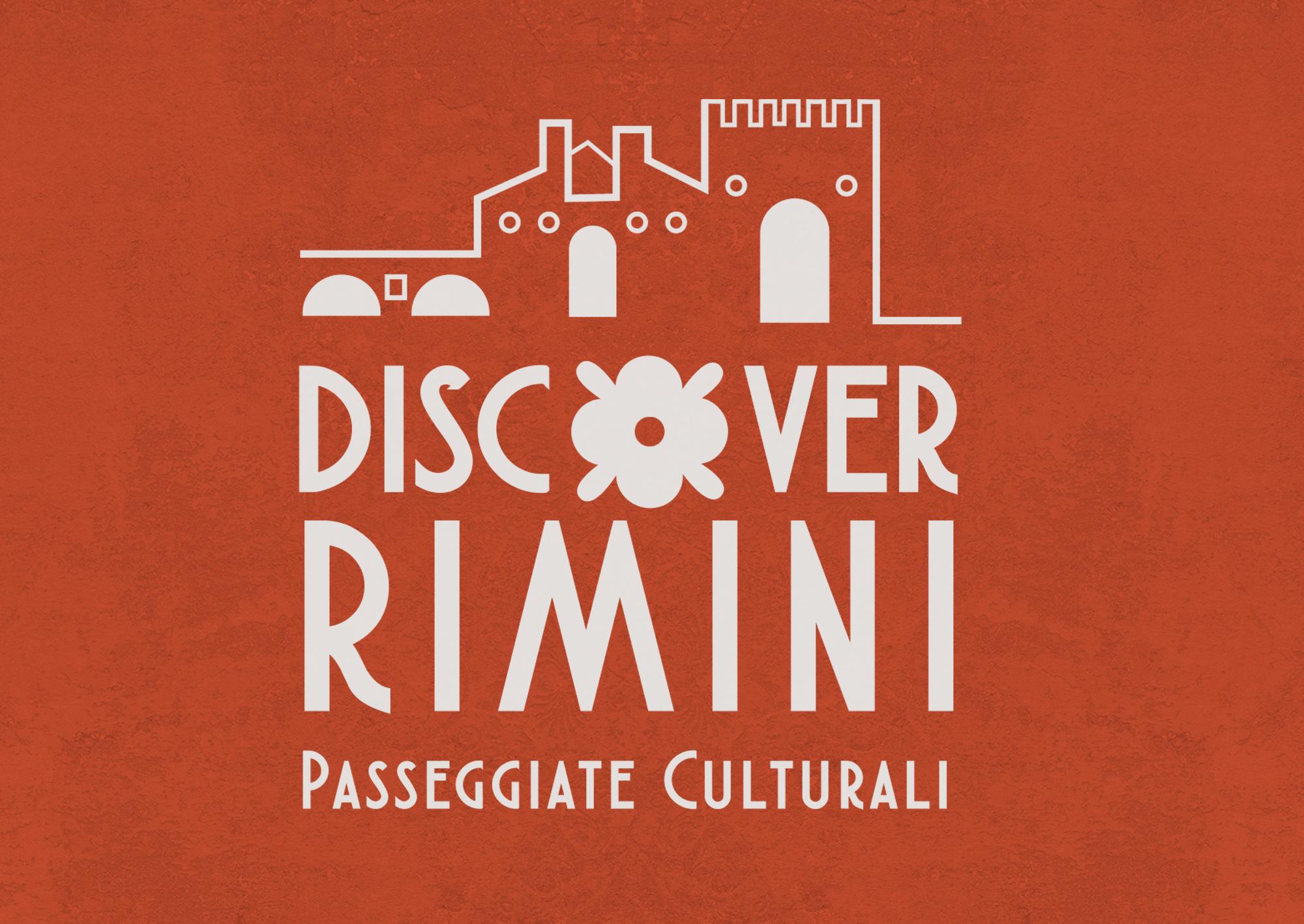 Ideazione e progettazione Logo Discover Rimini