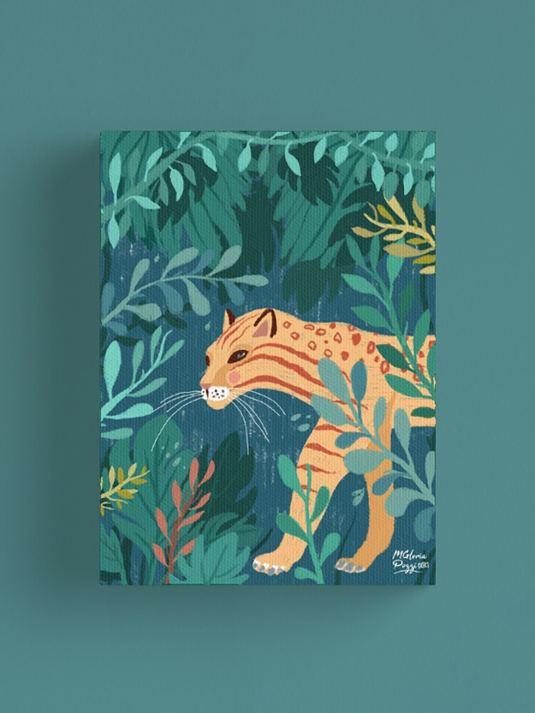 jungle-tiger-canvas-sweetcandyroll