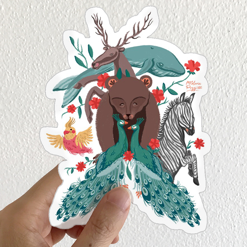 sticker-animal-by-sweetcandyroll