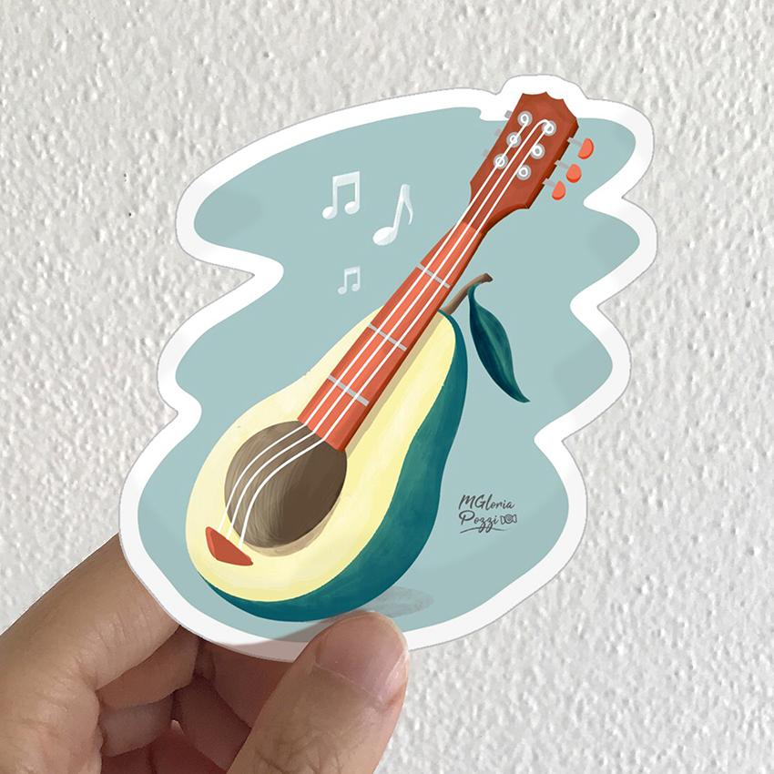 sticker-avocado-by-sweetcandyroll