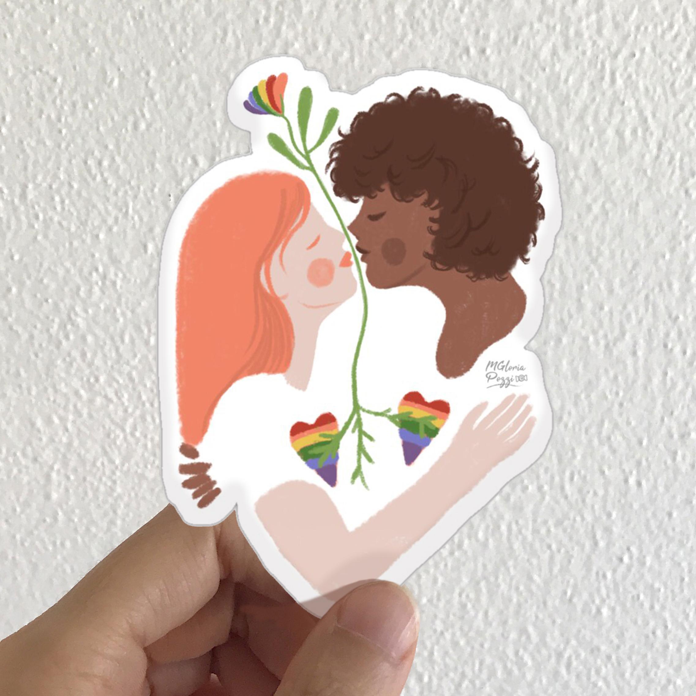 sticker-gaypride-by-sweetcandyroll