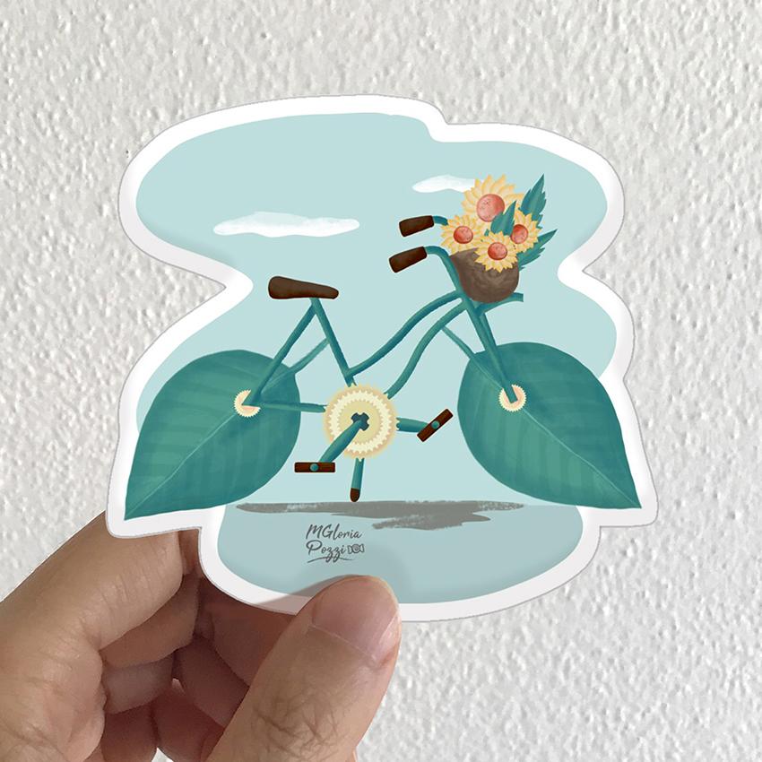 sticker-greenbike-by-sweetcandyroll