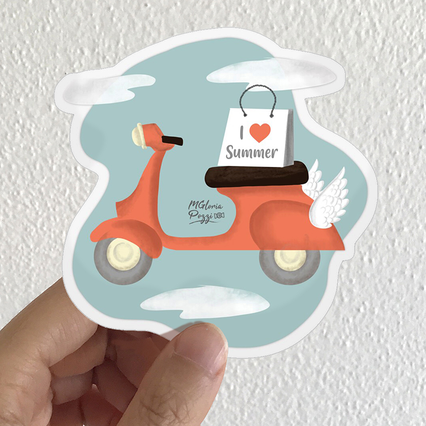 sticker-vespa-by-sweetcandyroll